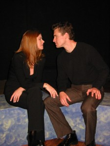 With Carol Shannon (Maddy) and Seth Resnik (Travis) DEAD GIRL'S DIARY, Playwrights 6, 2002